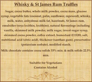 Whiskey & St James Rum